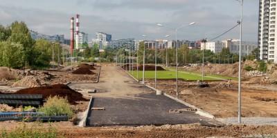 Строительство Шекснинского переулка