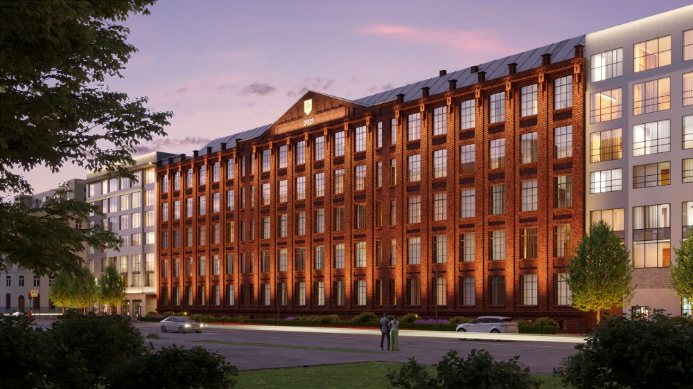 Большой Сампсониевский проспект, 77, проект производственного корпуса фабрики Георг Ландрин