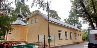 Динамо, Покровское кладбище, здание