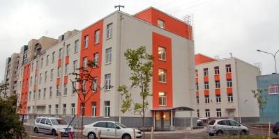 Колпино, Московская улица, дом 3, корпус 4, детская поликлиника