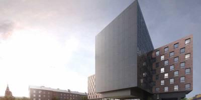 Набережная Обводного канала, 118а, литера П, проект апарт-отеля