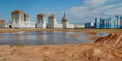 Намывная территория Васильевского острова